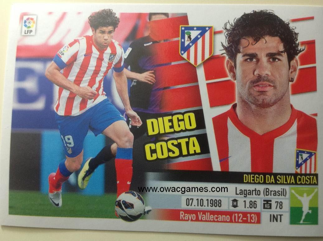 Liga ESTE 2013-14 Atl. de Madrid - 16 - Diego Costa