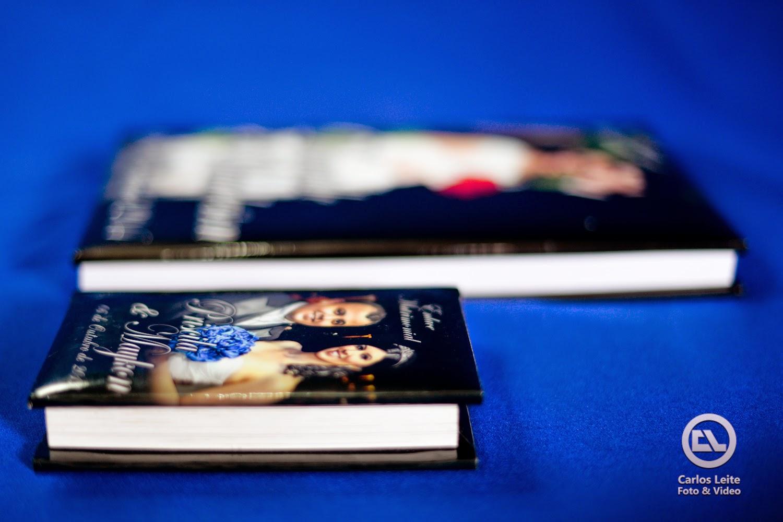 Kit sogra - 02 minis books réplicas do book dos noivos