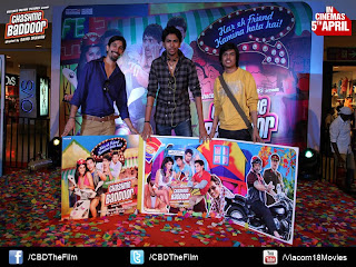 Music Launch of Chashme Baddoor Movie at Infiniti Mall