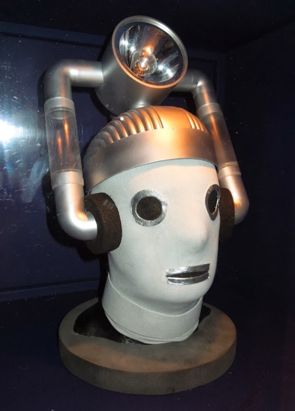 Doctor Who 1966 Cyberman head Tenth Planet