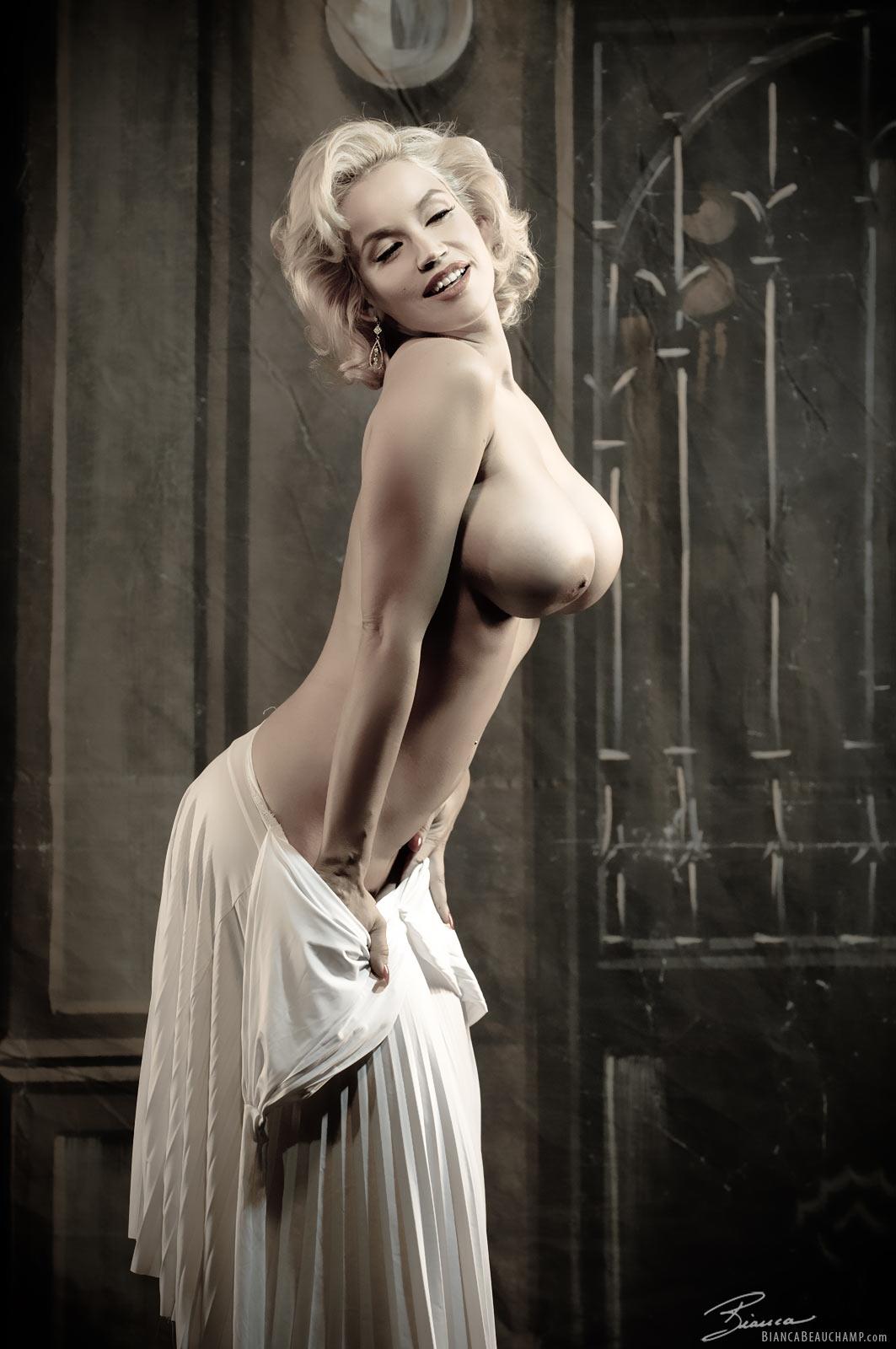 marilyn monroe big boobs nude