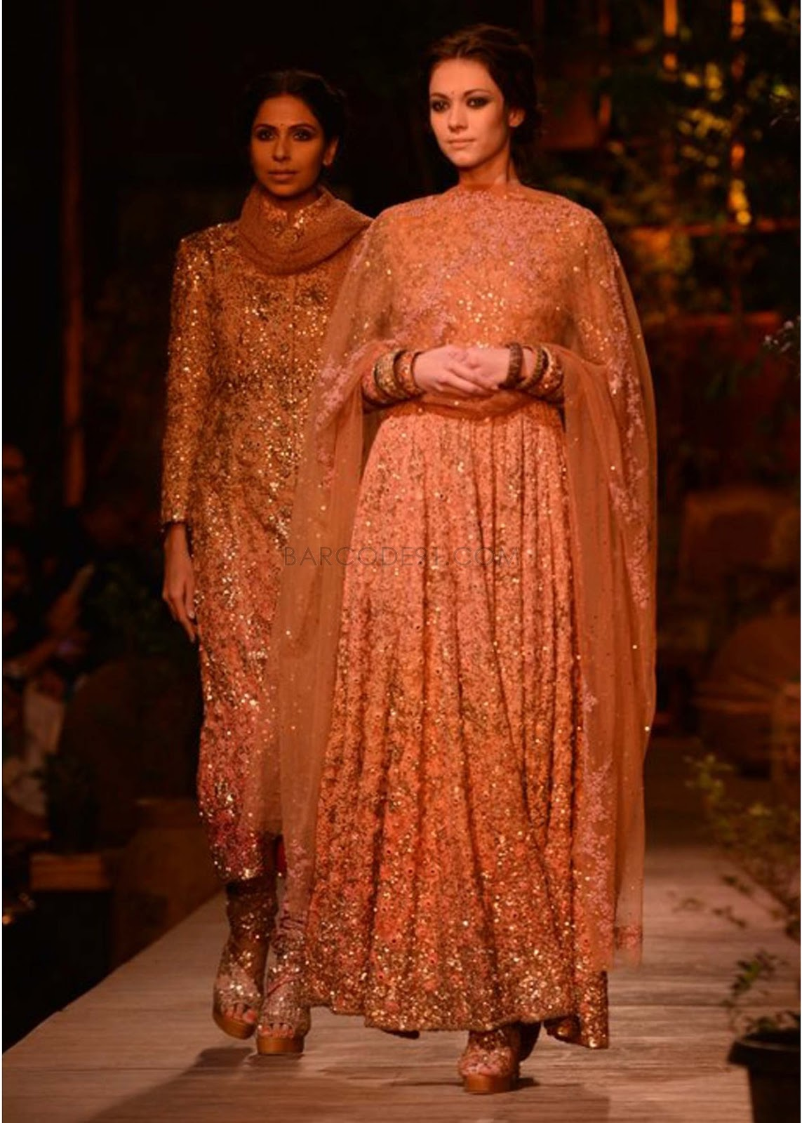 Sabyasachi Collection at PCJ Delhi Couture Week 2013 ... Sabyasachi Bridal Collection 2013