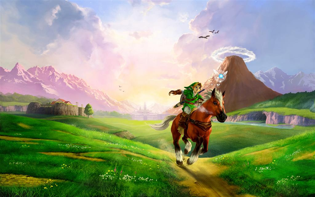The Legend of Zelda HD & Widescreen Wallpaper 0.545966573929268