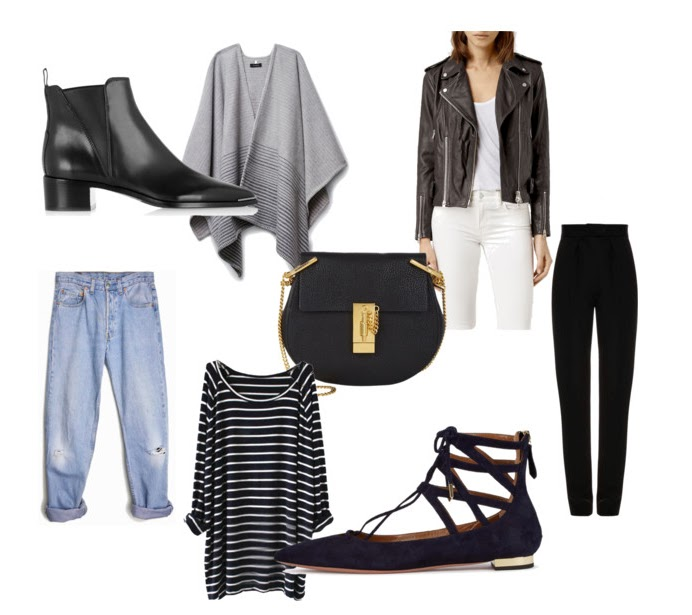 Fall shopping wishlist ft. Acne, Allsaints, Aritzia, Chloe, Aquazzura, Levi's, etc.