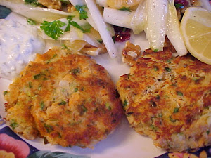 Croquettes moelleuses au saumon