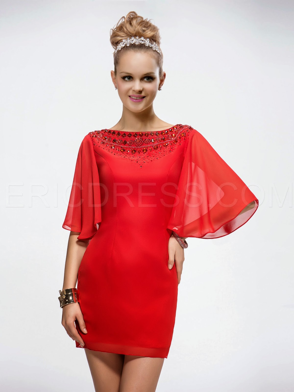 http://www.ericdress.com/product/Popular-Sheath-Bateau-Neckline-Half-Sleeves-Natural-Waistline-Short-Cocktail-Dress-10859575.html