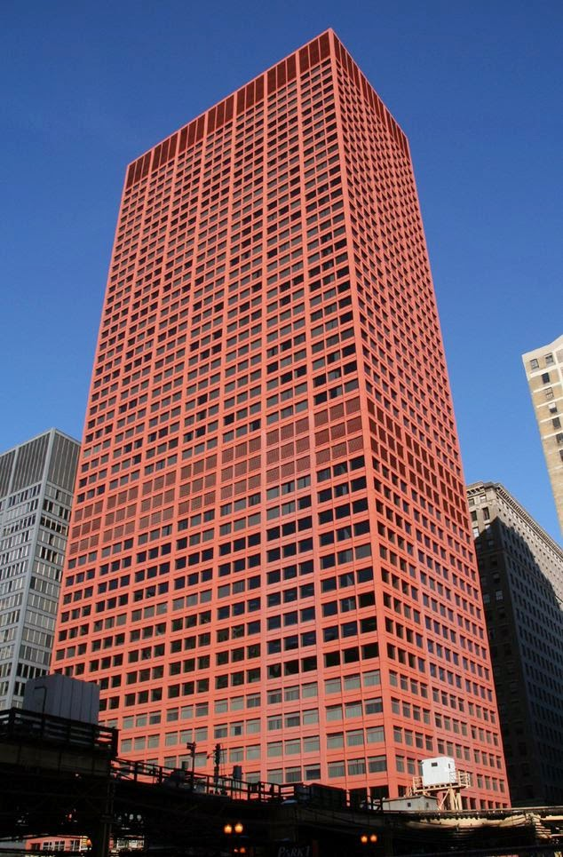 CNA Center's Unusual Red Exterior