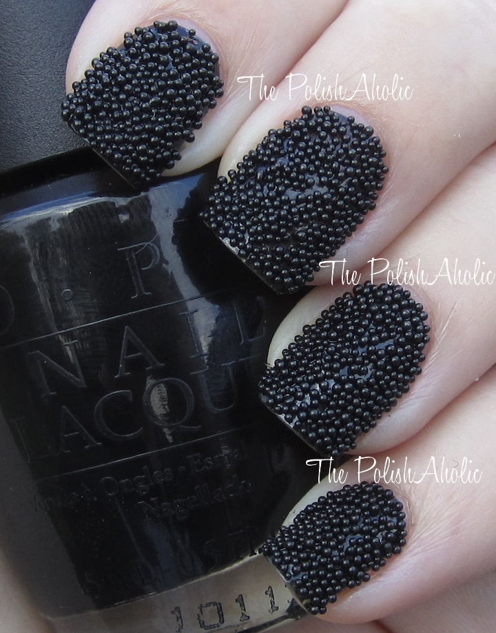 The PolishAholic: The Look for Less: Ciate\'s Caviar Manicure