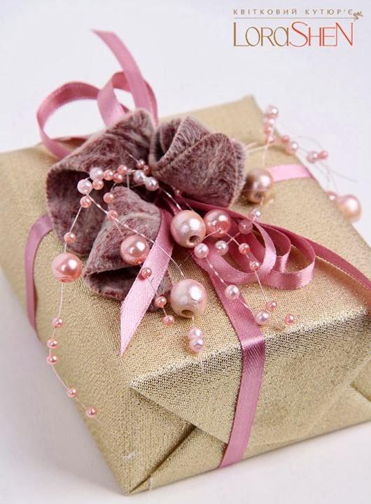 Свадебная упаковка на подарок 173