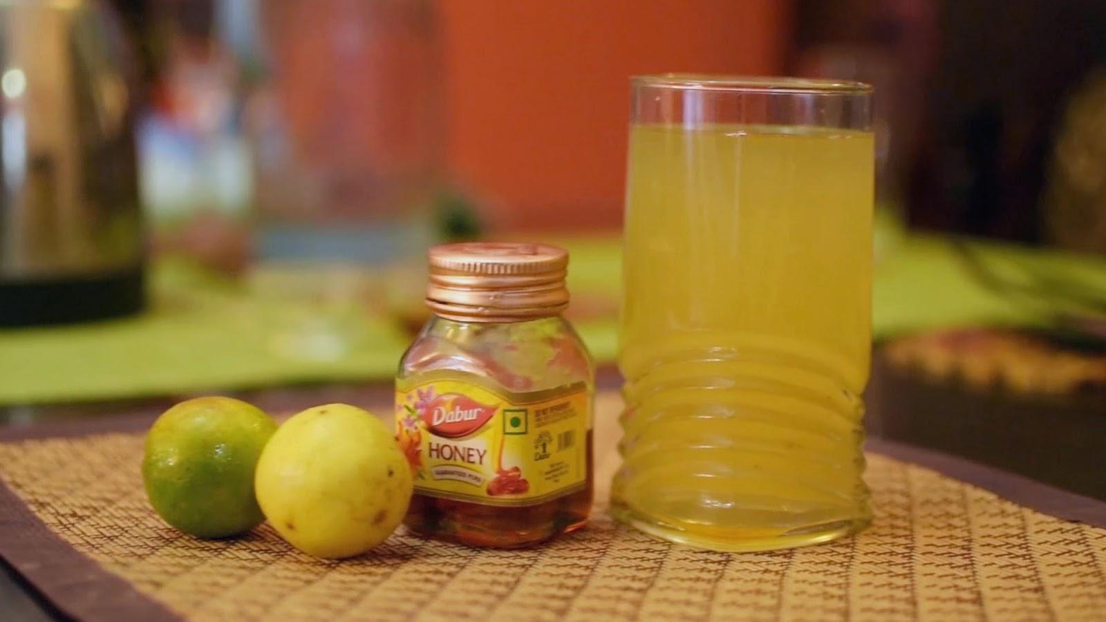 Honey lemon green tea for weight loss presence the endogenous