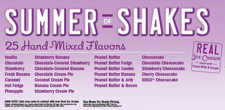 Like there s nothing better than delicious shakes for a great price
