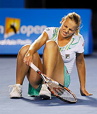 oops moment of tennis players myFABEtennis     Jelena Dokic  P   Vintage Valium Advertisements