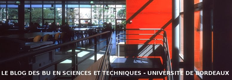Le blog des BU Sciences - Université de Bordeaux