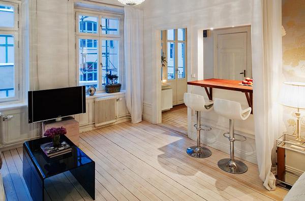 Hogares frescos ideas de dise os para apartamentos peque os for Diseno de apartamento de 4x8 mts