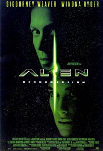Cartel original de Alien resurrección