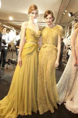 novias de amarillo