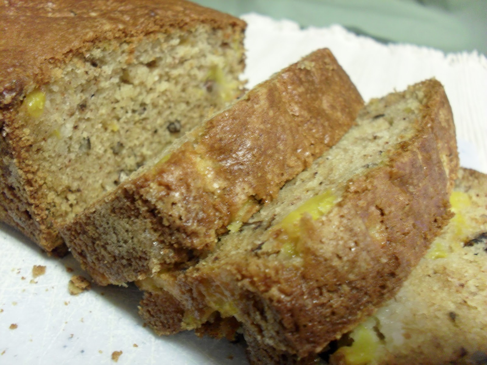 peach bread with sour cream it s moist and peachy