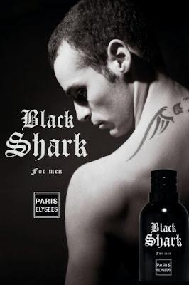Perfume Masculino Black Shark Paris Elysees
