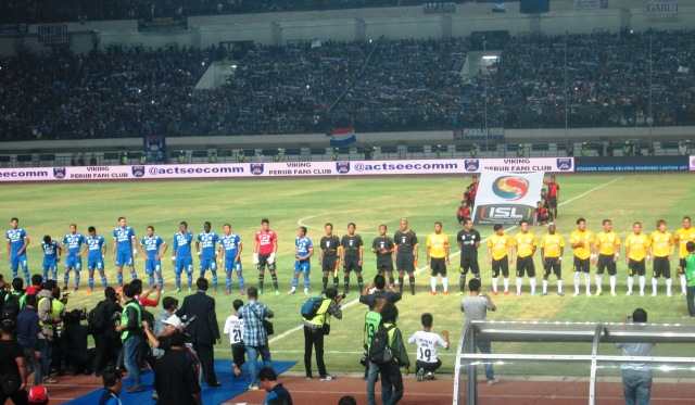 Persib Bandung Kalahkan Malaysia Selection 3-0