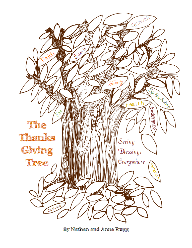 The Thanks Giving Tree Family Devotional