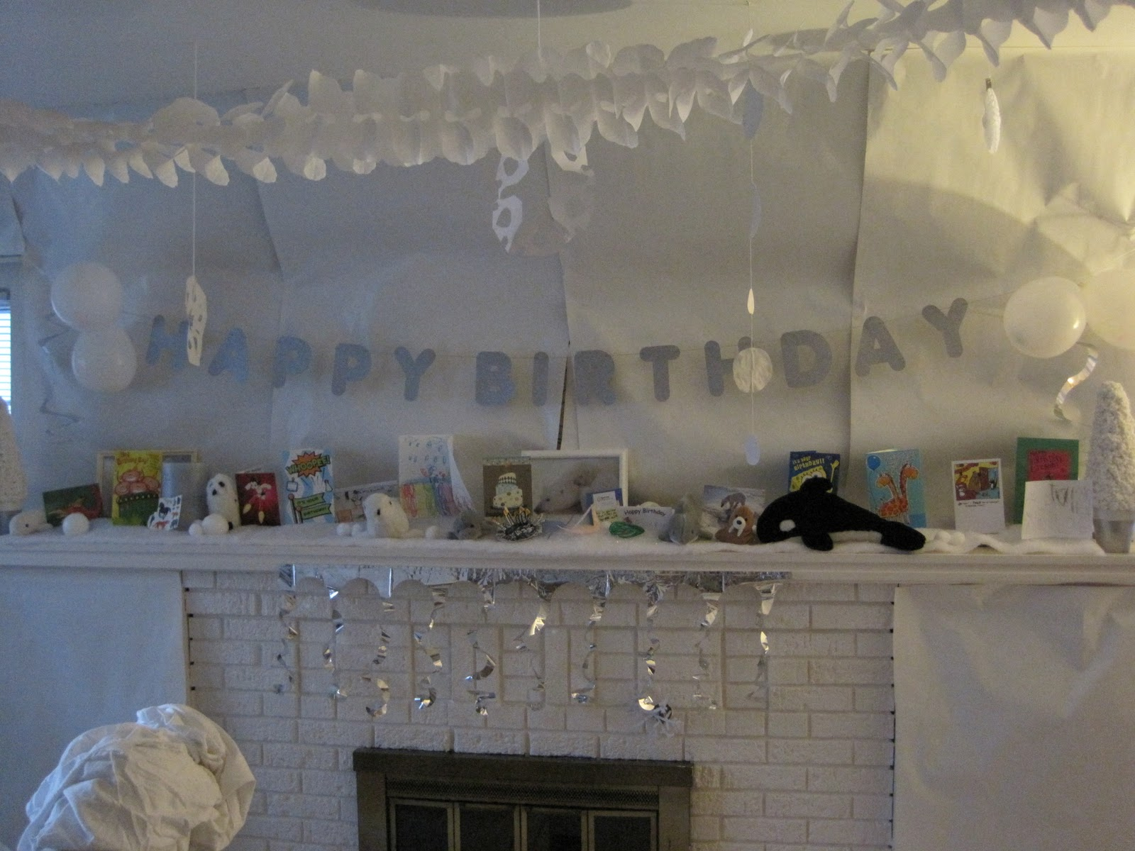 Mexico migration arctic adventure esteban 39 s 8th for All white party decoration