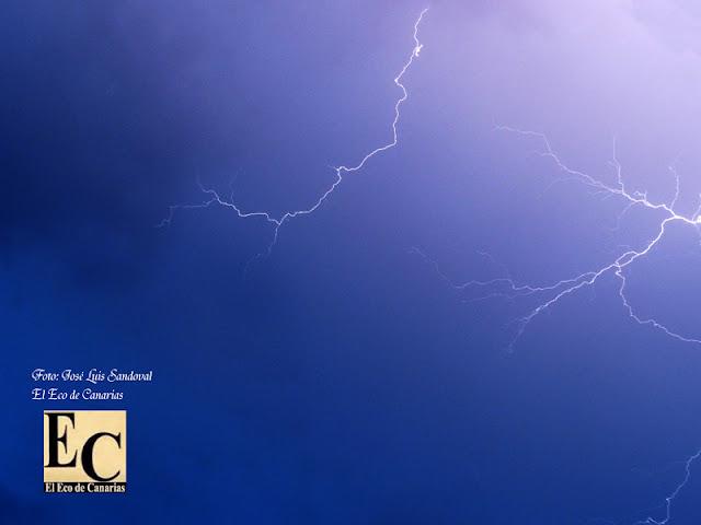 fotos Fuerte tormenta eléctrica Gran Canaria 22 septiembre
