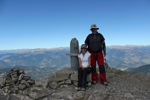 En la cima del Pic de Costa Cabirolera