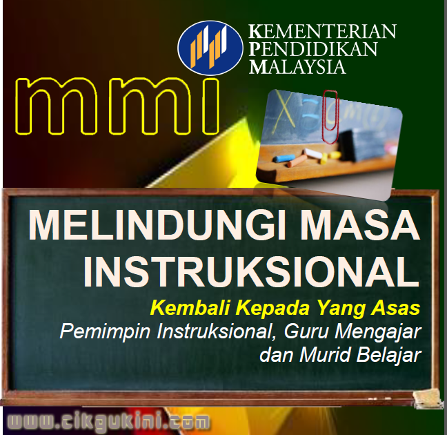 MMI | Apa itu MMI [ Melindungi Masa Instruksional]  & Download Buku Pelaksanaan MMI
