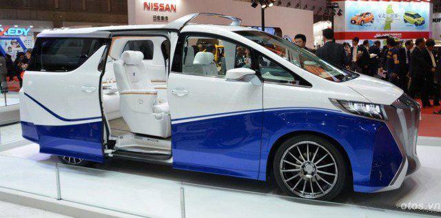Toyota giới thiệu mẫu xe MPV mới tại TMS 2015