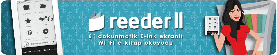 reeder e-Kitap Okuyucu ve Tablet PC