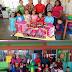 Piñatas, bolsitas con golosinas, juguetes, material didáctico y de oficina, fue el donativo realizado por el empresario transportista Ricardo Fernández Aviña en los Jardines de Niños SRH y Bambi