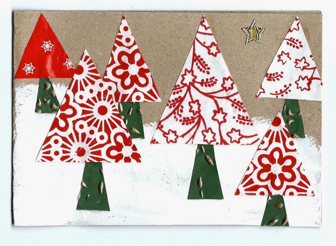 Handmade christmas cards part one mrs fox 39 s life home for Christmas card ideas to make at home