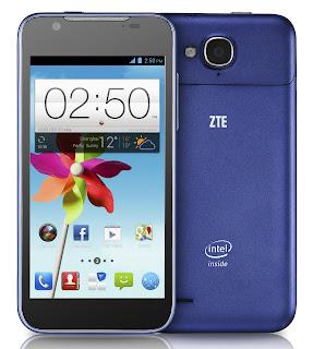 ZTE Grand X2 - Smartphone Android dengan Prosesor Intel Atom