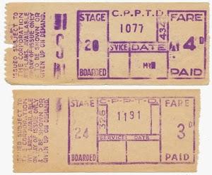 Corporation bus tickets