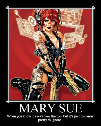 The Back 40k The Ultimate Mary Sue