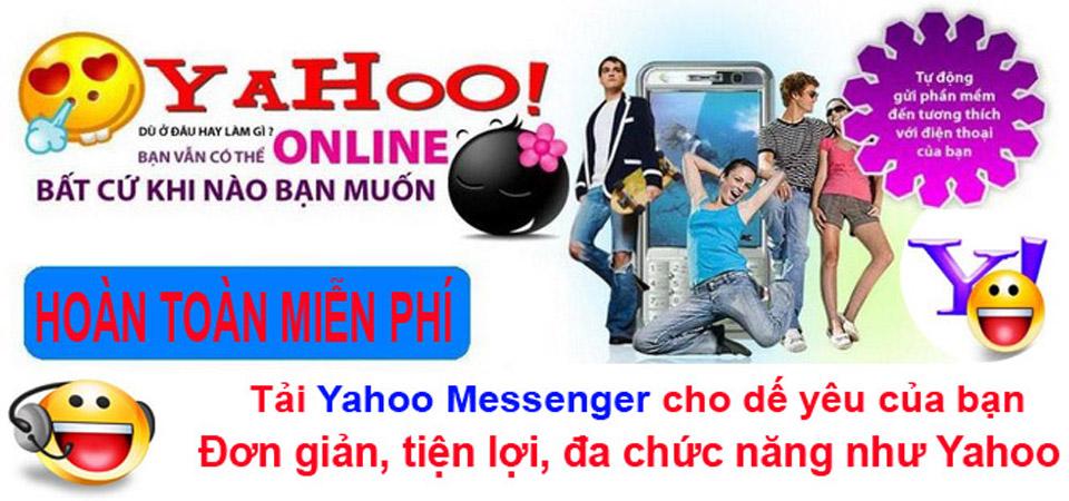 Tai Yahoo chat yahoo về điện thoại miễn phí Java - Android