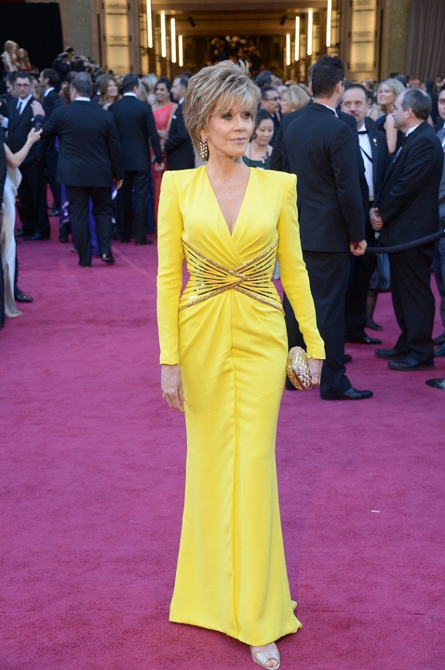 Jane Fonda - Celebrity Fashion at the 2013 Oscars