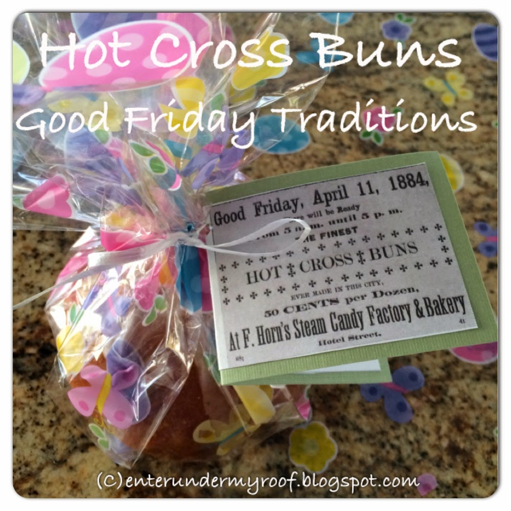 Hot Cross Buns Recipe & Printable for Good Friday Traditions