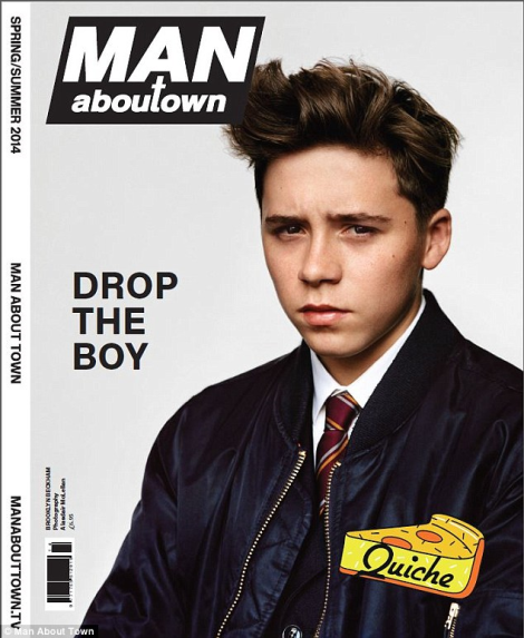 Brooklyn Beckham by Alasdair McLellan for Man About Town