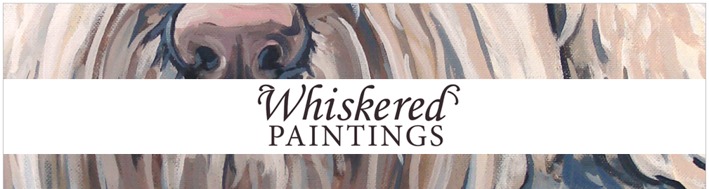 Whiskered Paintings - Custom Pet Portraits