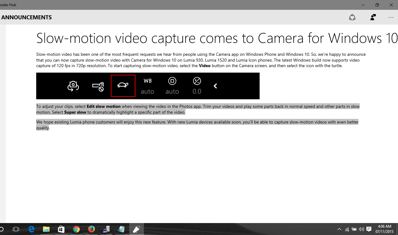 how to play video in slow motion on windows