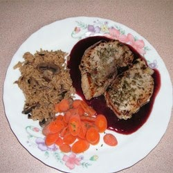 ... Depletion Debate: Meat And Poultry - Pork Chops With Raspberry Sauce