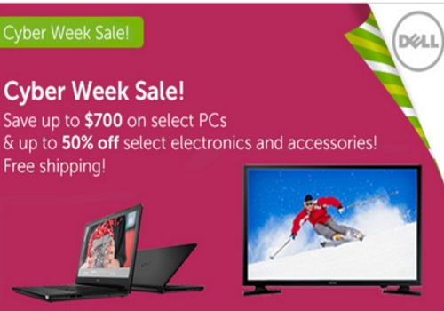 Dell Cyber Week Sale Up To $700 Off Select PCs