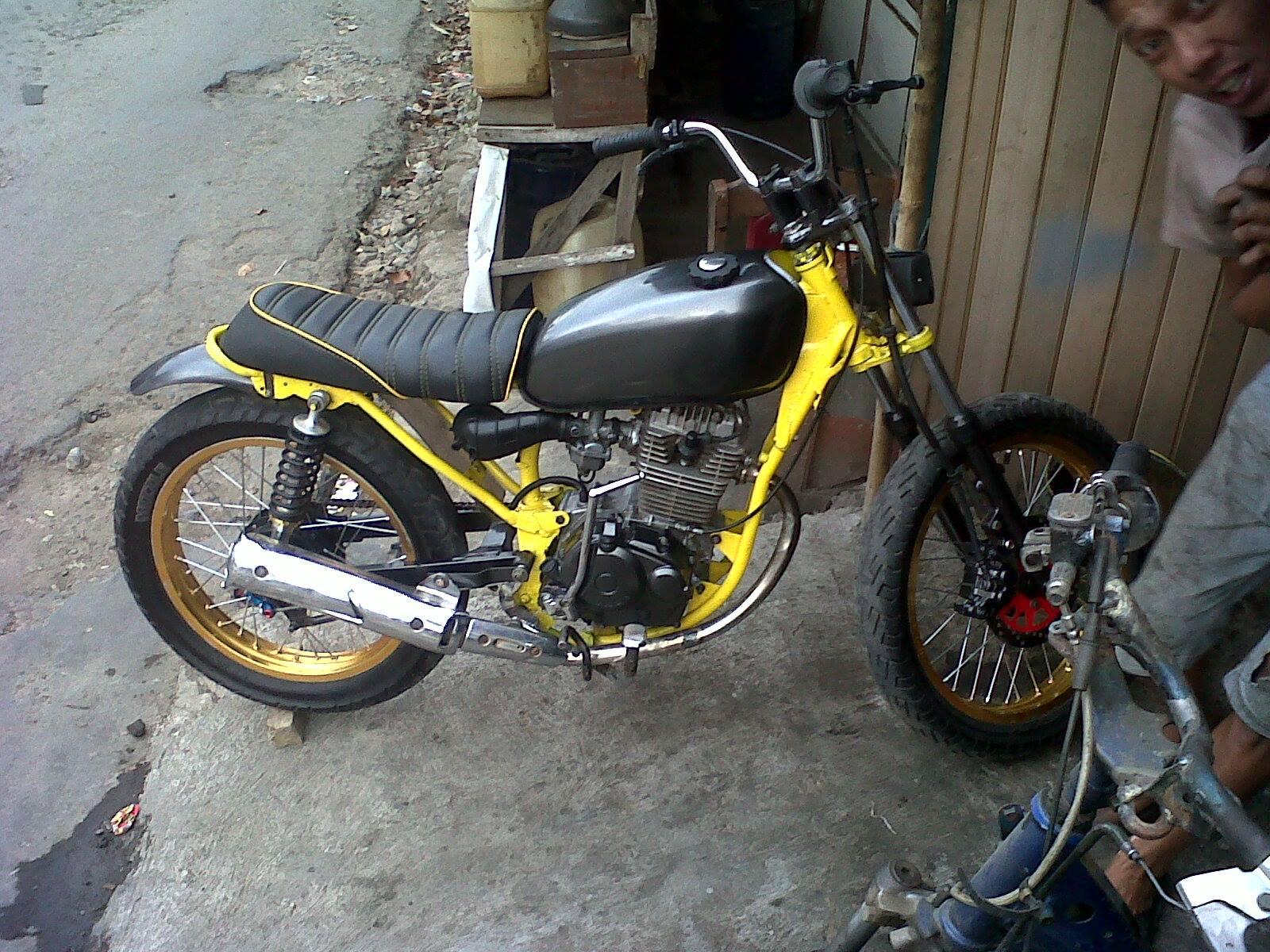koleksi foto modifikasi motor trail gl terbaru | modispik motor