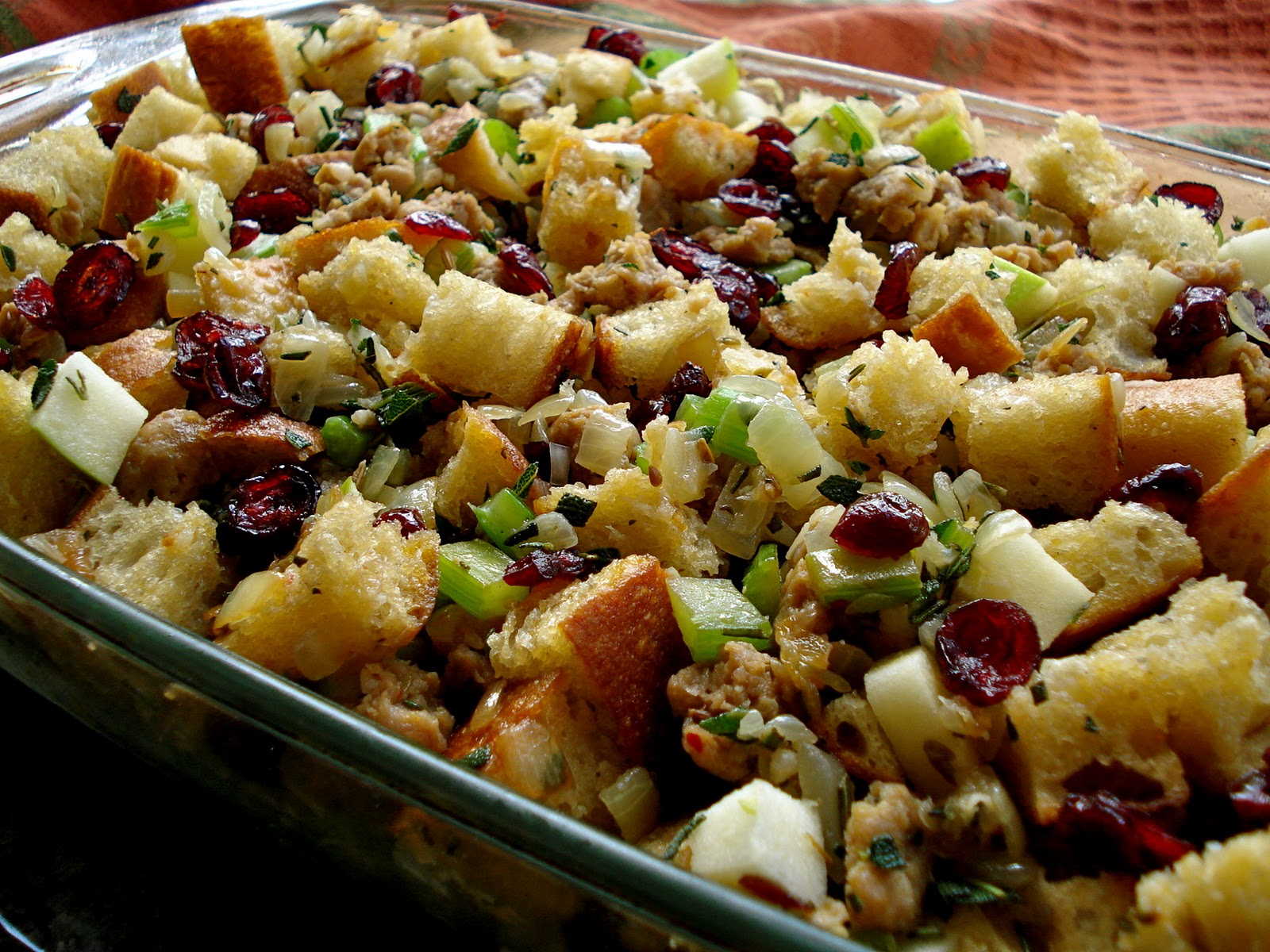 Simple Pleasures: Sausage, Apple and Herb Stuffing