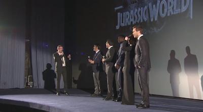 jurassic world premiere paris