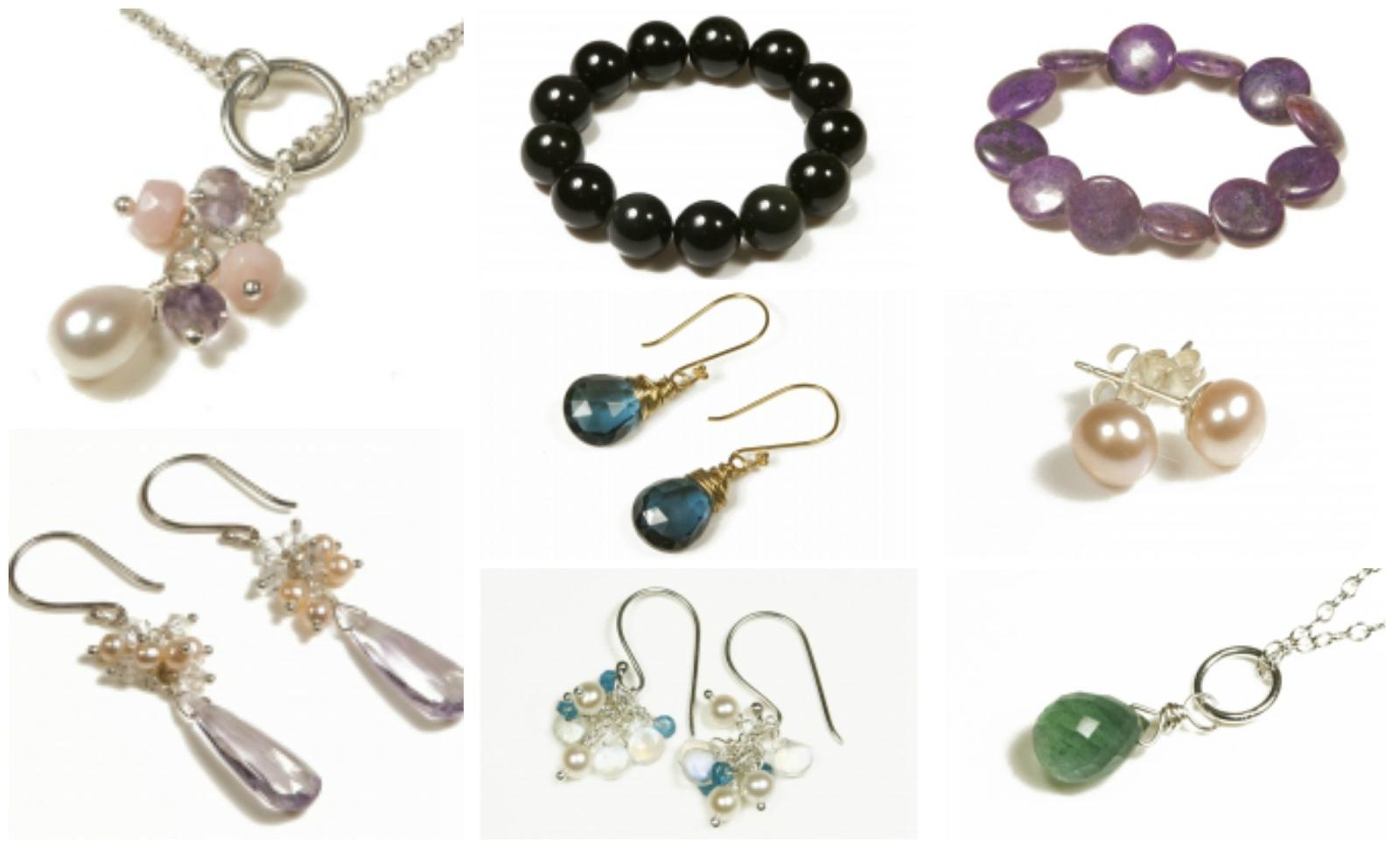 Sugarpuss London jewellery collage