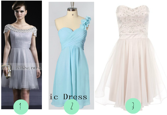 Frugal Fannie's Short Prom Dresses