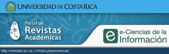 Revista e-Ciencias de la Información