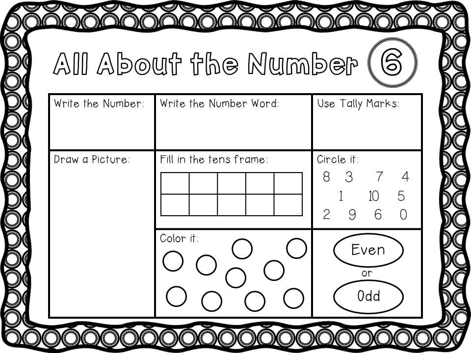 Kindergarten is Grrreat!: Daily 3 Math - Math by Myself - for the ...